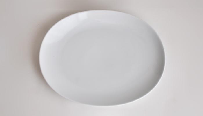 Common オーバルプレート 27cm ホワイト