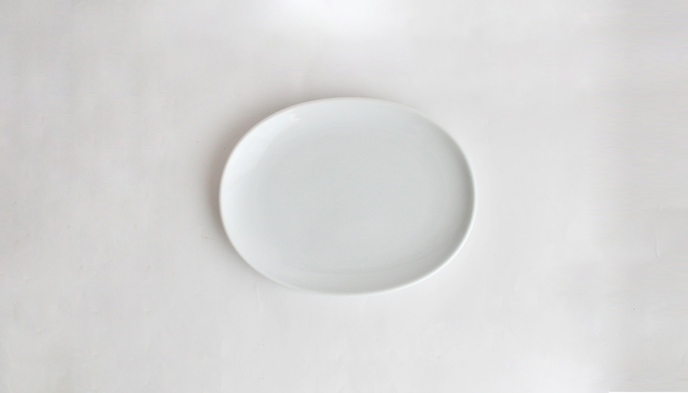 Common プレート 15cm ホワイト