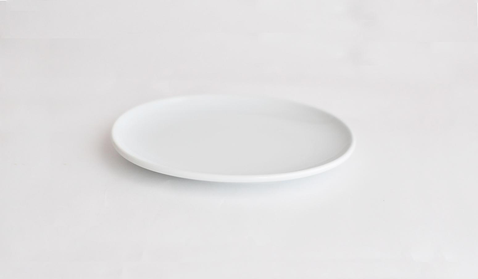 Common コモン オーバルプレート15cm ホワイト02