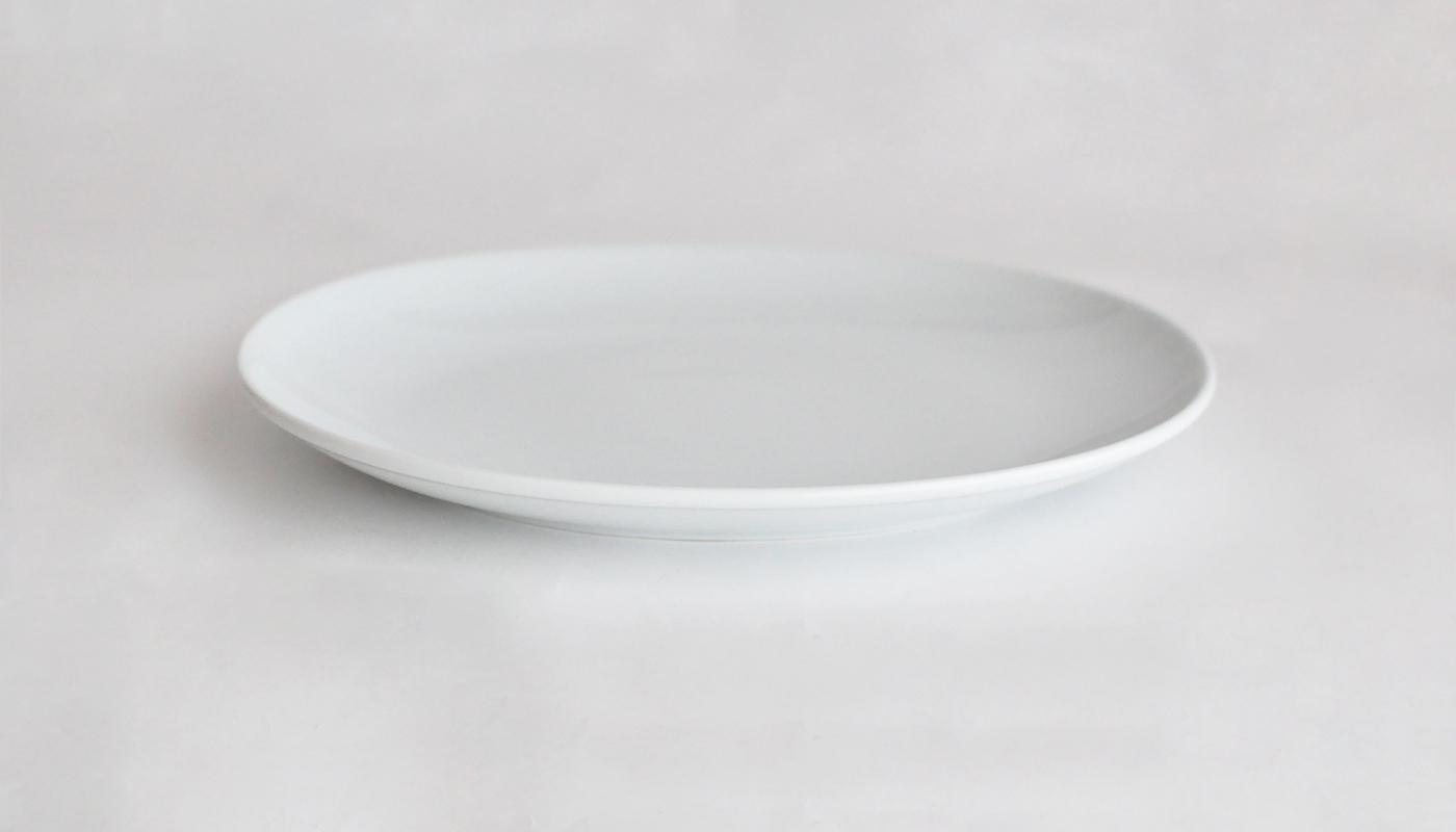 Common コモン オーバルプレート23cm  ホワイト02