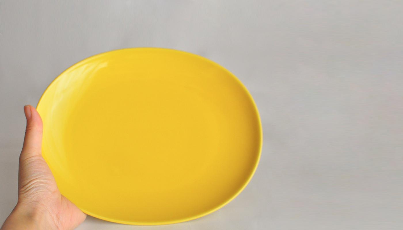 Common コモン オーバルプレート23cm ホワイト03