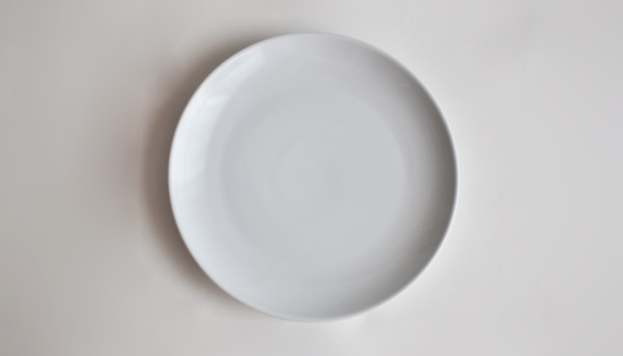 Common プレート 21cm ホワイト