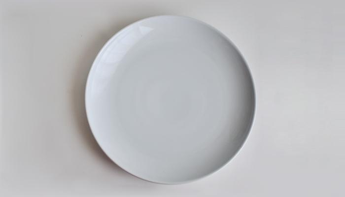 Common プレート 24cm ホワイト