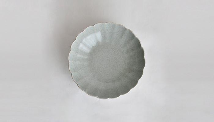 青瓷輪花鉢 小 | 石黒 剛一郎